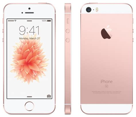 Iphone Se New 16gb Rosegold Gold apple iphone se model 16gb gold spares and repairs faulty ebay
