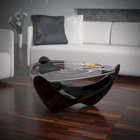 futuristic coffee table futuristic coffee table with droplet effect droplet