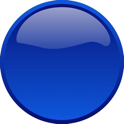blue clip button blue clip free vector in open office drawing