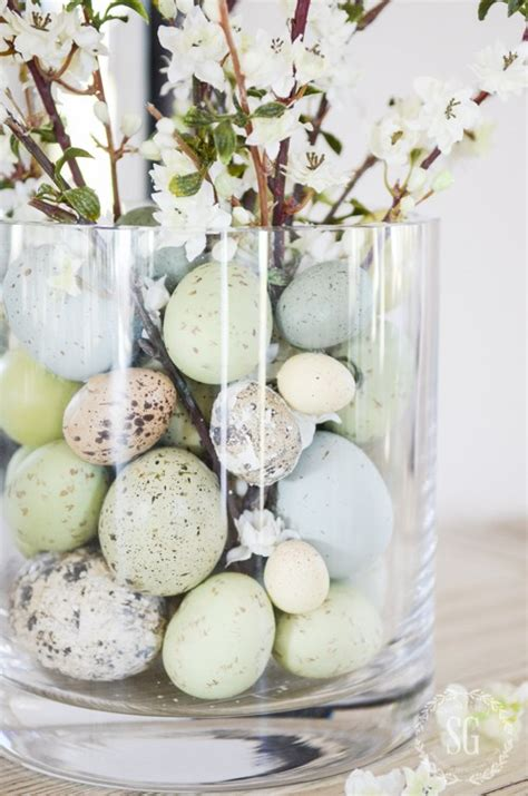 10 Prettiest Easter Decor Items by Easter Egg Decorating Ideas Paper Tree