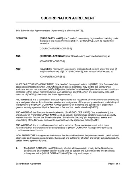 Agreement Letter Between Two Business 25 Professional Agreement Format Exles Between Two Companies Thogati