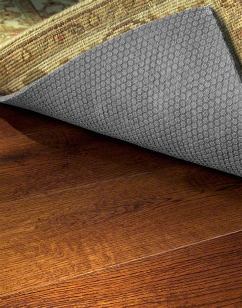 rug pads for hardwood best rug pads to protect hardwood floors gurus floor