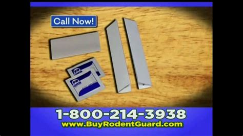 Garage Door Rodent Guard Garage Door Rodent Guard Tv Spot Don T Let Rodents In