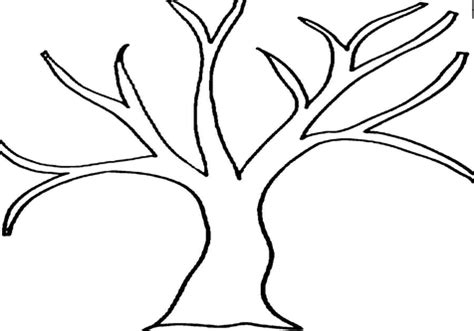 tree pattern without leaves coloring page tree tree without leaves coloring printable pictures apple