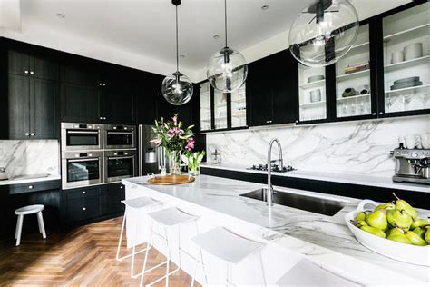 Kitchens With Island Benches - the block glasshouse week 6 room reveal l kitchen week