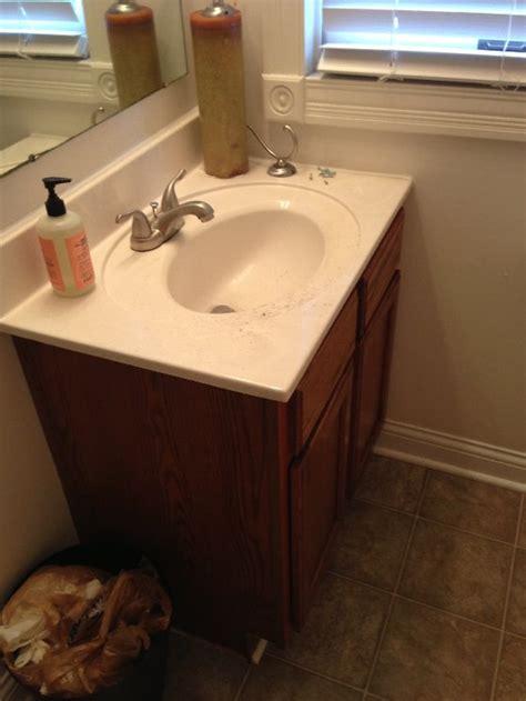diy bathroom vanity update before after a 210 guest bathroom refresh hometalk