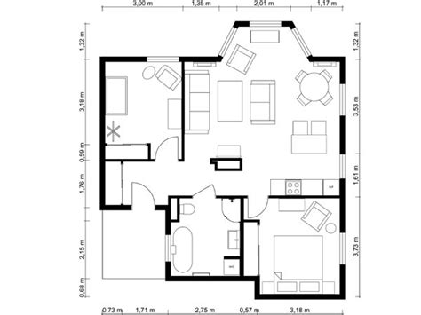 2 bedroom layout plan 1 bedroom apartment floor plan roomsketcher