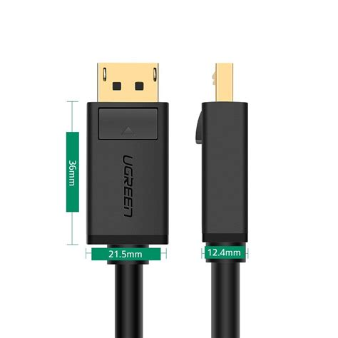 Murah Kabel Display Port Dp Gaming High Quality 1 5m Meter ugreen kabel display port to display port 1 meter black jakartanotebook