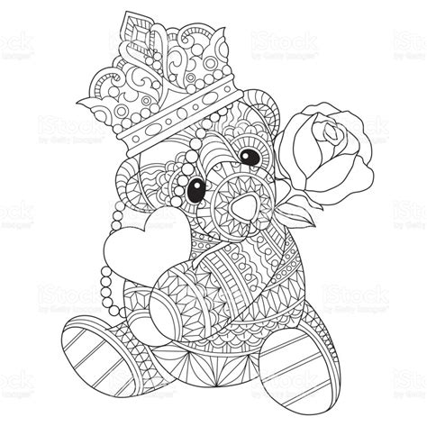 teddy bear coloring pages for adults rainbow dash wears a crown coloring pages flower crown