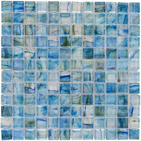 blue mosaic tile shop elida ceramica lagoon blue uniform squares mosaic