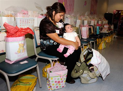 When Are Baby Showers Held by Valerie Gomez Photos Photos Mass Baby Shower Held For