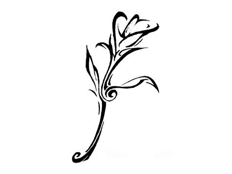 tribal tattoo flower designs tattoos designs ideas and meaning tattoos for you