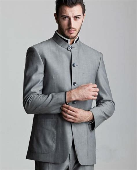 Silver Groom Tuxedos 2014 Formal Best Men'S Suits