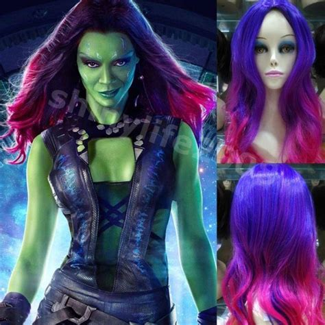 guardians of the galaxy wig gamora 4999 wigs 17 best images about hair on pinterest wet hair braids