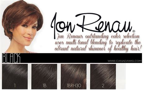 jon renau color chart jon renau and easihair colorcharts canada wigs