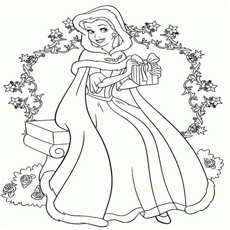dibujos navideños para colorear disney hermoso dibujos para colorear la bella y la bestia gratis