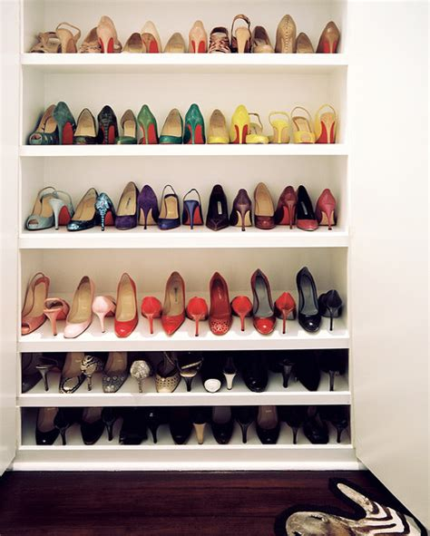 Shoe Shelves In Closet by Closet Photos 5 Of 87 Lonny