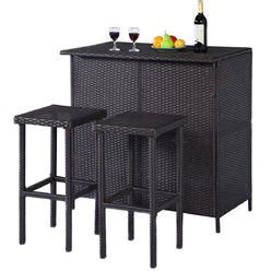 Garden Oasis Harrison Bar Stools by Outdoor Bars Patio Bars Kmart