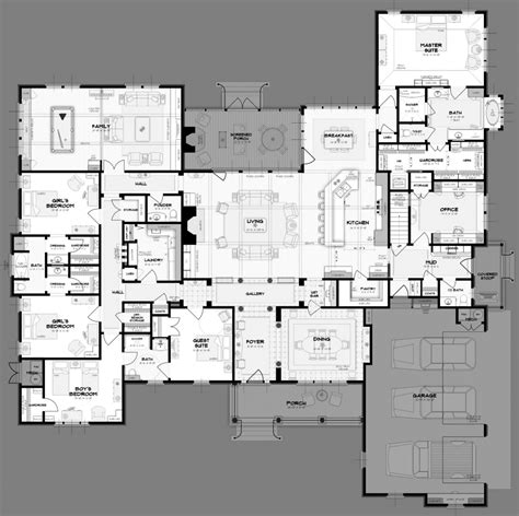 5 bedroom house floor plans my home plans in big 5 bedroom house plans my plans help
