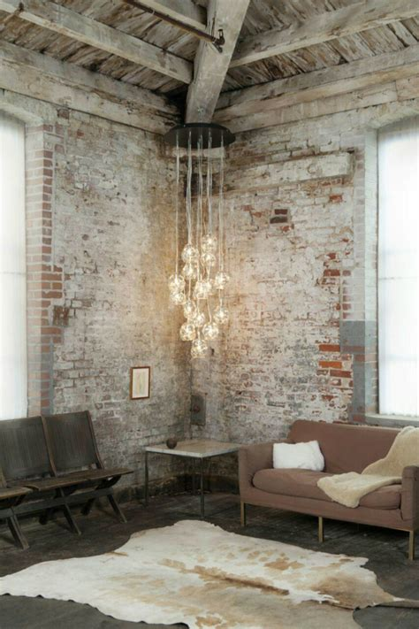 exposed brick wall get an industrial style home by using exposed brick walls