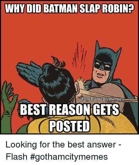 Batman Slap Meme - 25 best memes about batman slapping robin batman