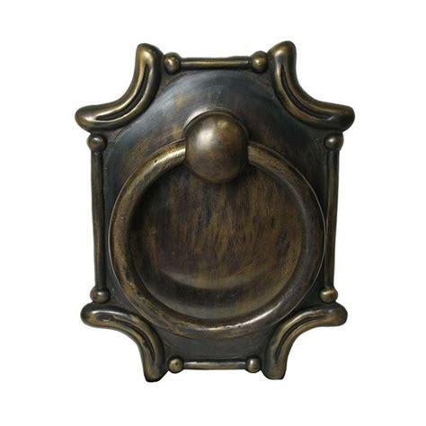 Unlacquered Brass Cabinet Hardware by Gado Gado Ring Pulls 7 1 2 Inch Diameter Unlacquered