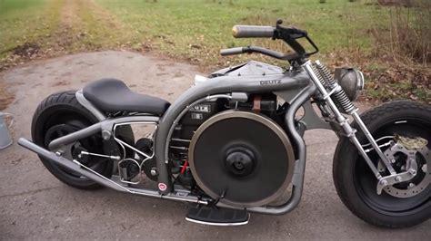 Diesel Motorrad Youtube by Deutz Rocker Diesel Motorcycle Mah711 Homemade Custom