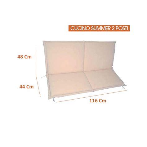 cuscini per panca cuscino per panca 1 2 3 posti colore ecr 249 spessore 5