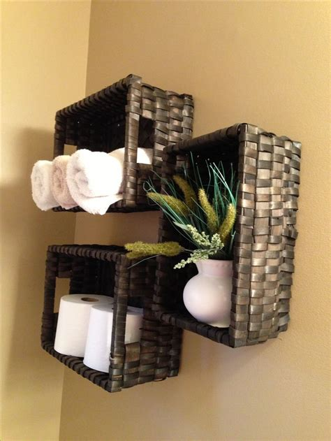 bathroom wall baskets 17 best images about bathroom organization on pinterest