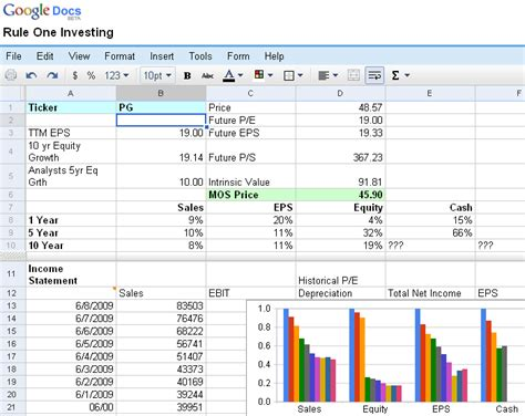 best photos of stock valuation spreadsheet excel stock