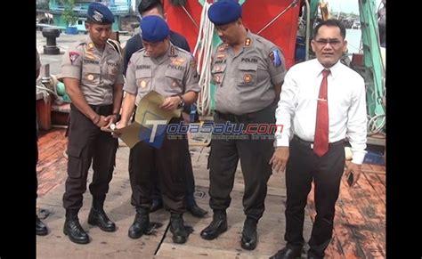 Puntius Tertra Zone Ikan Sumatera kapal ikan asing berbendera malaysia ditangkap saat