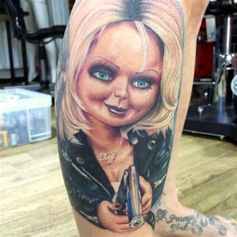 bride of chucky tattoo 17 best images about of chucky tattoos on