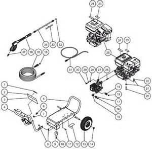 Subaru Pressure Washer Parts Deere Pr 3000gs Pressure Washer Breakdown