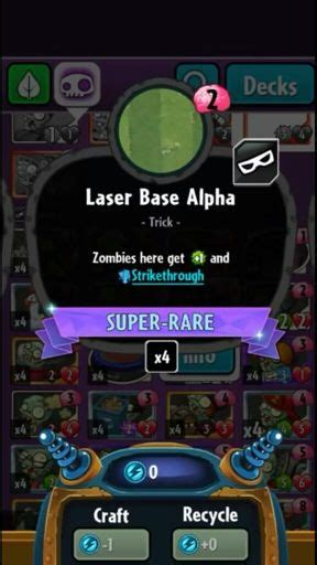 Pvz Heroes Card Template by Robo Flare Wiki Plants Vs Zombies Heroes Amino
