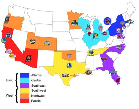 nba map nba realignment and new playoff system jerry s world