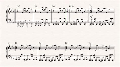 tutorial piano depeche mode piano enjoy the silence depeche mode sheet music