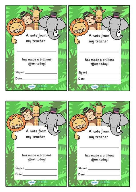 printables for preschool teachers 26 best preschool positive notes images on pinterest 2nd