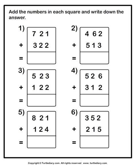 Maths 3 Digit Addition Worksheets by Three Digit Addition With Or Without Regrouping Worksheet