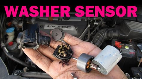 windshield washer sensor replacement youtube