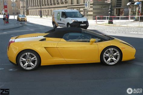 Lamborghini Spyder Lamborghini Gallardo Spyder 27 August 2016 Autogespot