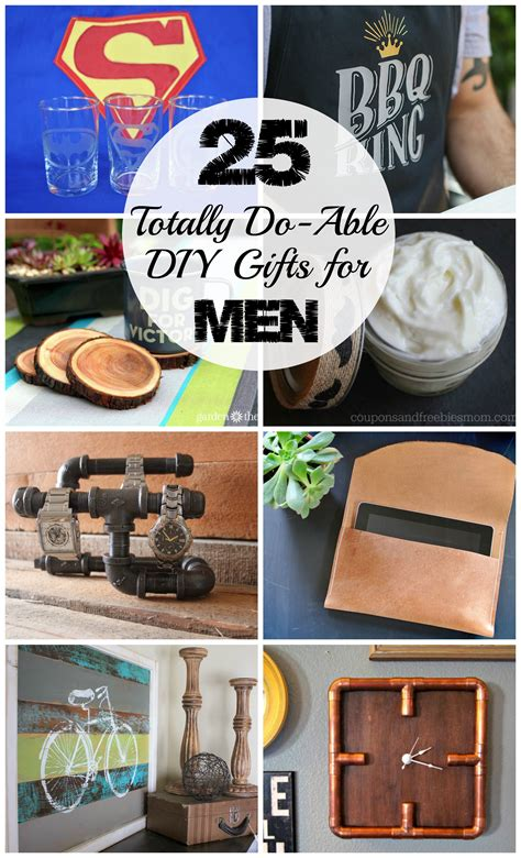25 diy gifts for men love create celebrate