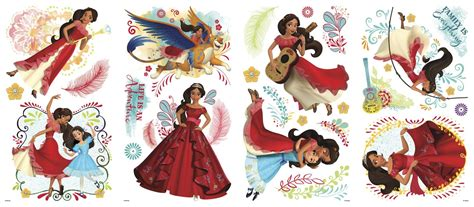 Teenage Room Decorations elena of avalor peel and stick wall decals