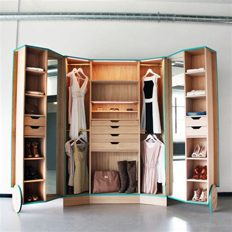 Walk In Wardrobe In Small Space by Closet Options For Small Spaces Home Design Inside