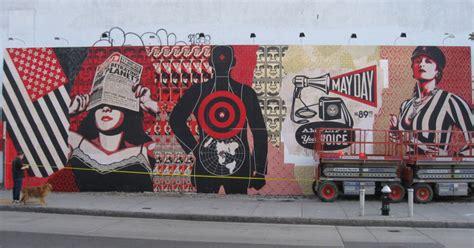 graffiti wallpaper woodies shepard fairey tlon