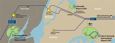 jfk airtrain map airtrain map nyc my