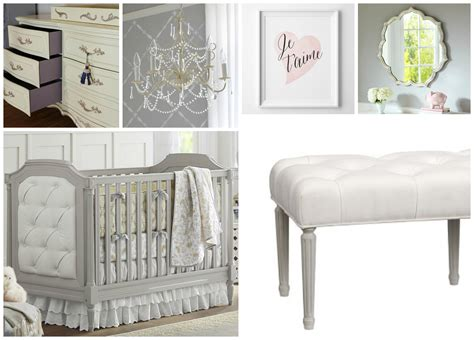 Parisian Nursery Decor 72 Pottery Barn Blythe Crib Blythe Guardrail Conversion Kit Vintage Gray Pottery Barn
