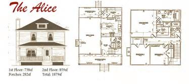 American Foursquare House Plans American Foursquare House Floor Plans Foursquare Floor