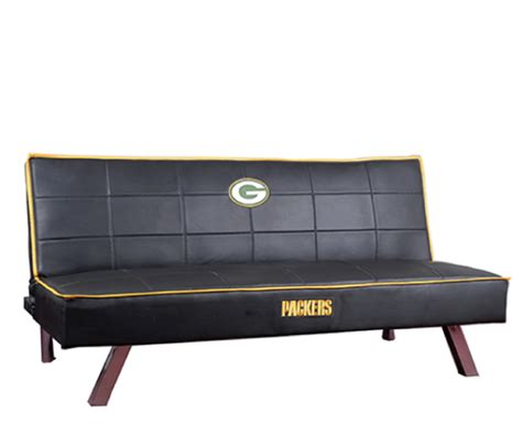 green bay packers couch nfl green bay packers official licensed ch futon