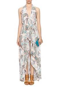 The clothing co print romper dress from manhattan by dor l dor