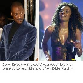 Scary Spice Files Paternity Petition accused of threatening paparazzi